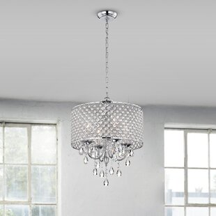 Aldgate 4 Light Crystal Chandelier