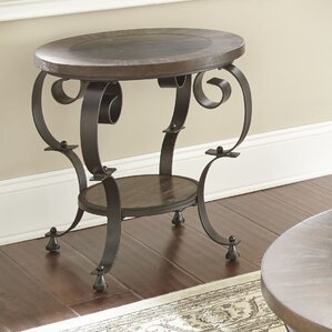 Alan End Table by Fleur De Lis Living