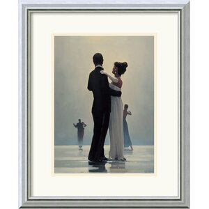 'Dance Me to the End of Love' by Jack Vettriano Framed Painting Print by Amanti Art