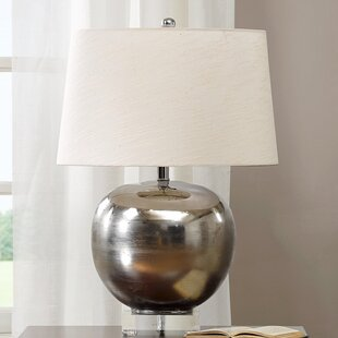 Best Price Rondure Mirrored 25 Table Lamp By Madison Park Signature