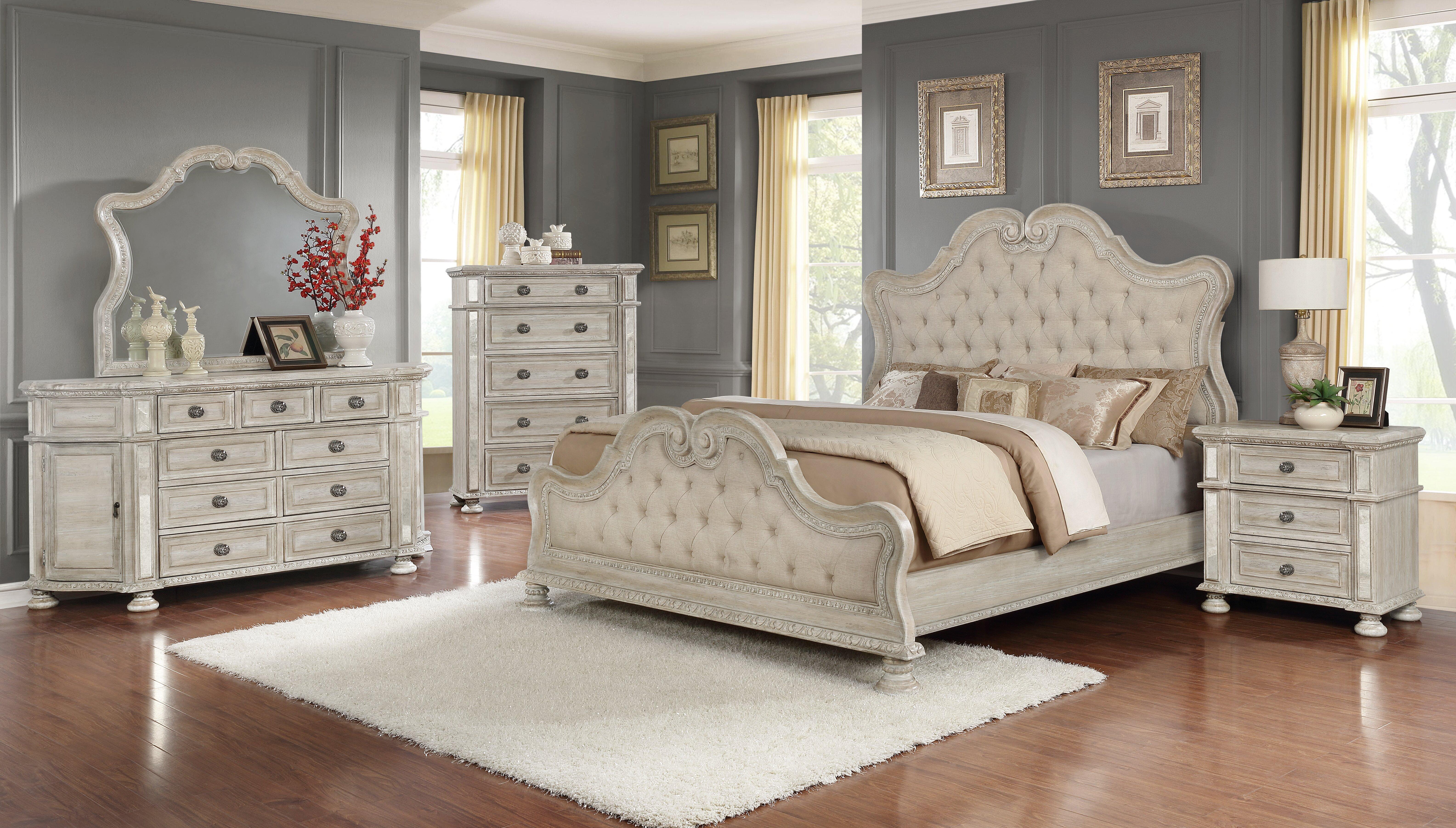 Astoria Grand Olszewski Standard 5 Piece Bedroom Set Wayfair