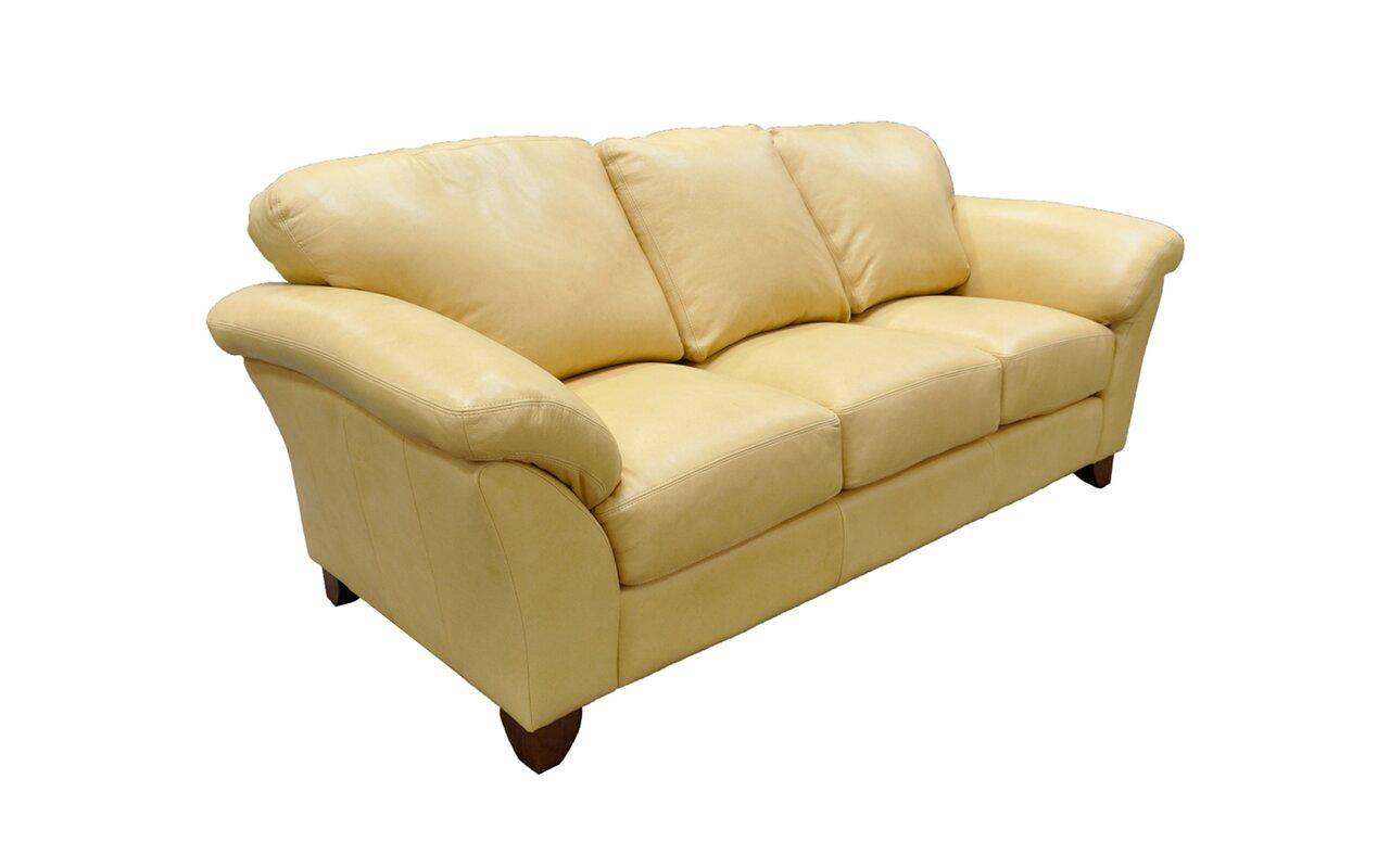 Nevada Leather Sofa By Omnia Furniture Sofa The Honoroak