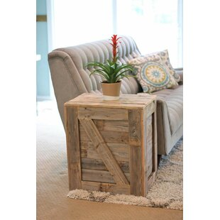 Menendez Crate End Table