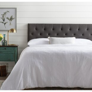 Cy Upholstered Panel Headboard by Andover Mills