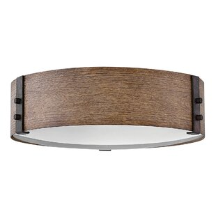 Reviews Sawyer 3-Light Outdoor Flush Mount By Hinkley Lighting
