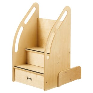 KYDZ Suite Up-n-Down Step Stool with Storage by Jonti-Craft