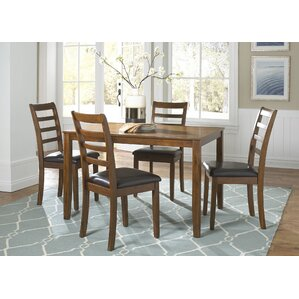 Bumgardner 5 Piece Dining Set by Darby Home Co