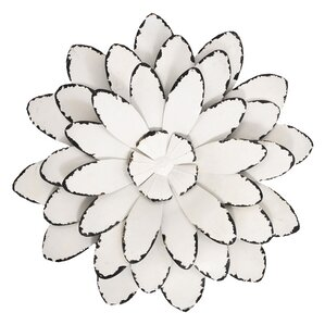 Metal Wall Art Flowers metal wall art - wall décor | wayfair