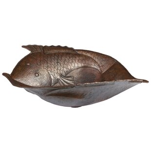 High-End Two Fish Metal Specialty Vessel Bathroom Sink ByPremier Copper Products