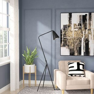 Compare & Buy Andice Metal 62.75 Tripod Floor Lamp By Langley Street