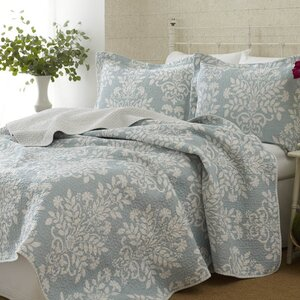 Rowland 100% Cotton Coverlet Set by Laura Ashley Home