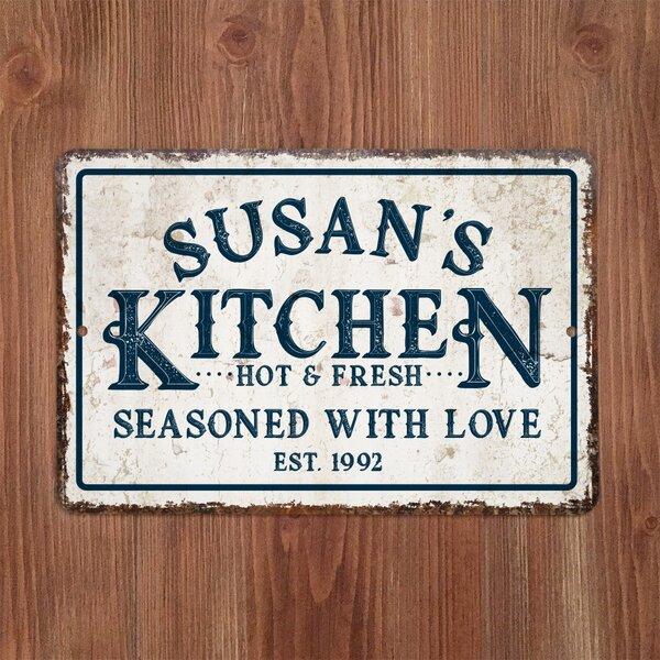 Large Vintage Kitchen Signs Wayfair