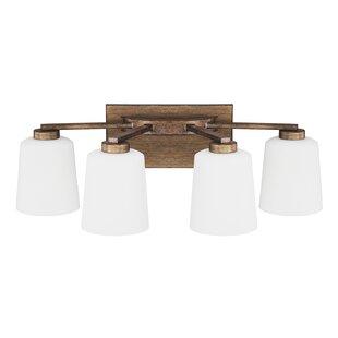 Budget Holly Hills 4-Light Vanity Light By Laurel Foundry Modern Farmhouse