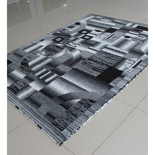 Affordable Black/White Area Rug By Rug Tycoon