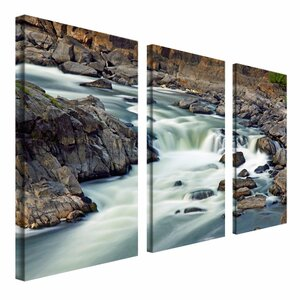 A Treasure by Cat Eyes  3 Piece Photographic Print on Wrapped Canvas Set by Trademark Fine Art