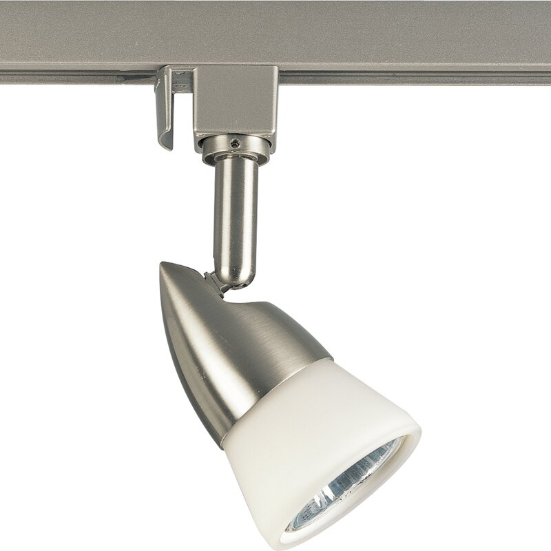 Illuma Flex Track Lighting Installed In A Kitchen From: Progress Lighting Illuma-Flex 1-Light 120V Line Voltage