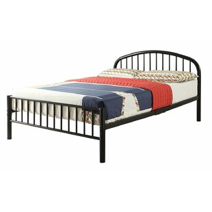 Dichiera Metal Full Platform Bed ByHarriet Bee