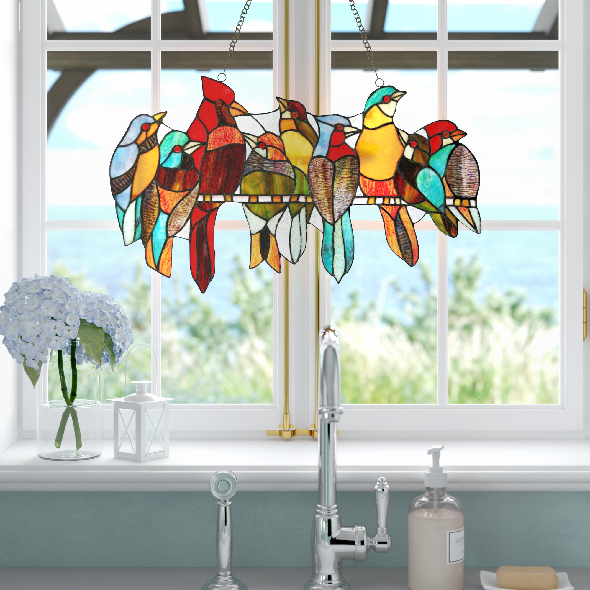 Stained Glass Panels Windows You Ll Love In 2020 Wayfair