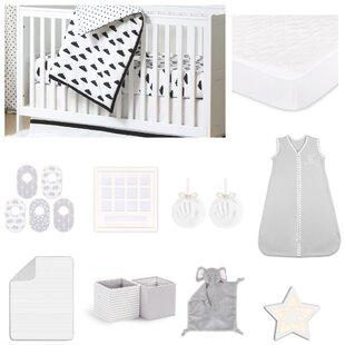 Shopping for Fluffy Cloud Essentials 18 Piece Crib Bedding Set ByThe Peanut Shell