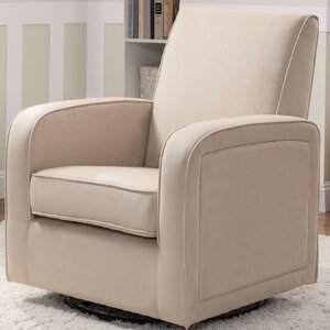 Clermont Upholstered Swivel Glider