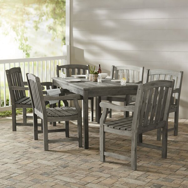 Densmore 7 piece dining set reviews birch lane for 7 piece dining room set under 300