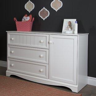Best Reviews Savannah 3 Drawer Combo Dresser BySouth Shore