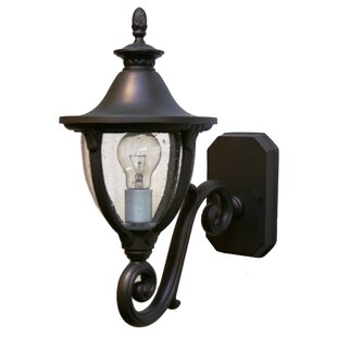 Compare prices Phillipstown 1-Light Outdoor Sconce By Alcott Hill