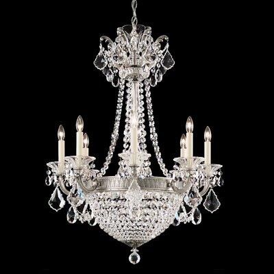 Schonbek new orleans 10 light crystal chandelier reviews wayfair la scala empire 8 light crystal chandelier aloadofball Choice Image