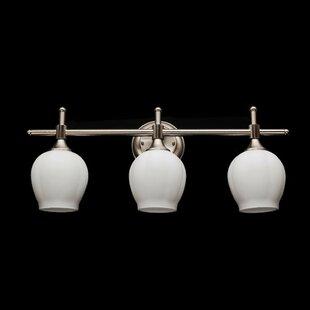 Bargain Le Baignoire 3-Light Vanity Light By eTopLighting