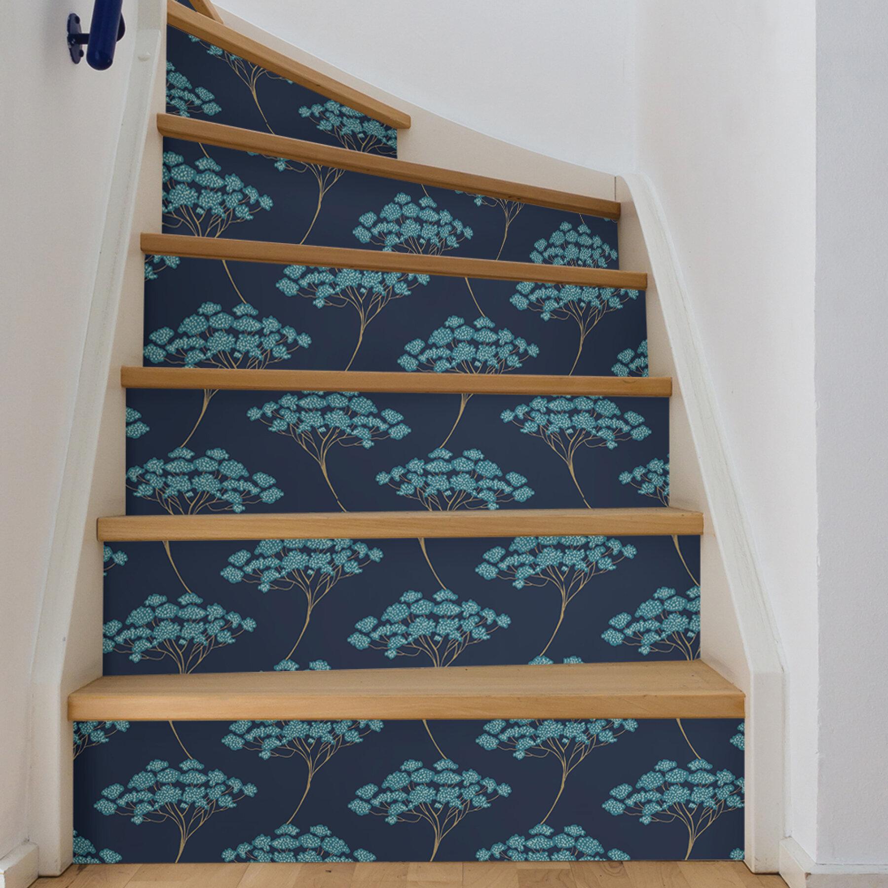World Menagerie Hibbs Ficus 216 L X 20 5 W Peel And Stick Wallpaper Roll Reviews Wayfair