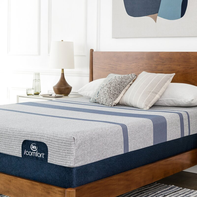 Serta Icomfort 12 Medium Gel Memory Foam Mattress And Adjustable