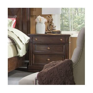 Greenbriar Rustic Elegance 3 Drawer Nightstand by Bay Isle Home