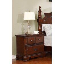 Sterling 2 Drawer Nightstand by Astoria Grand