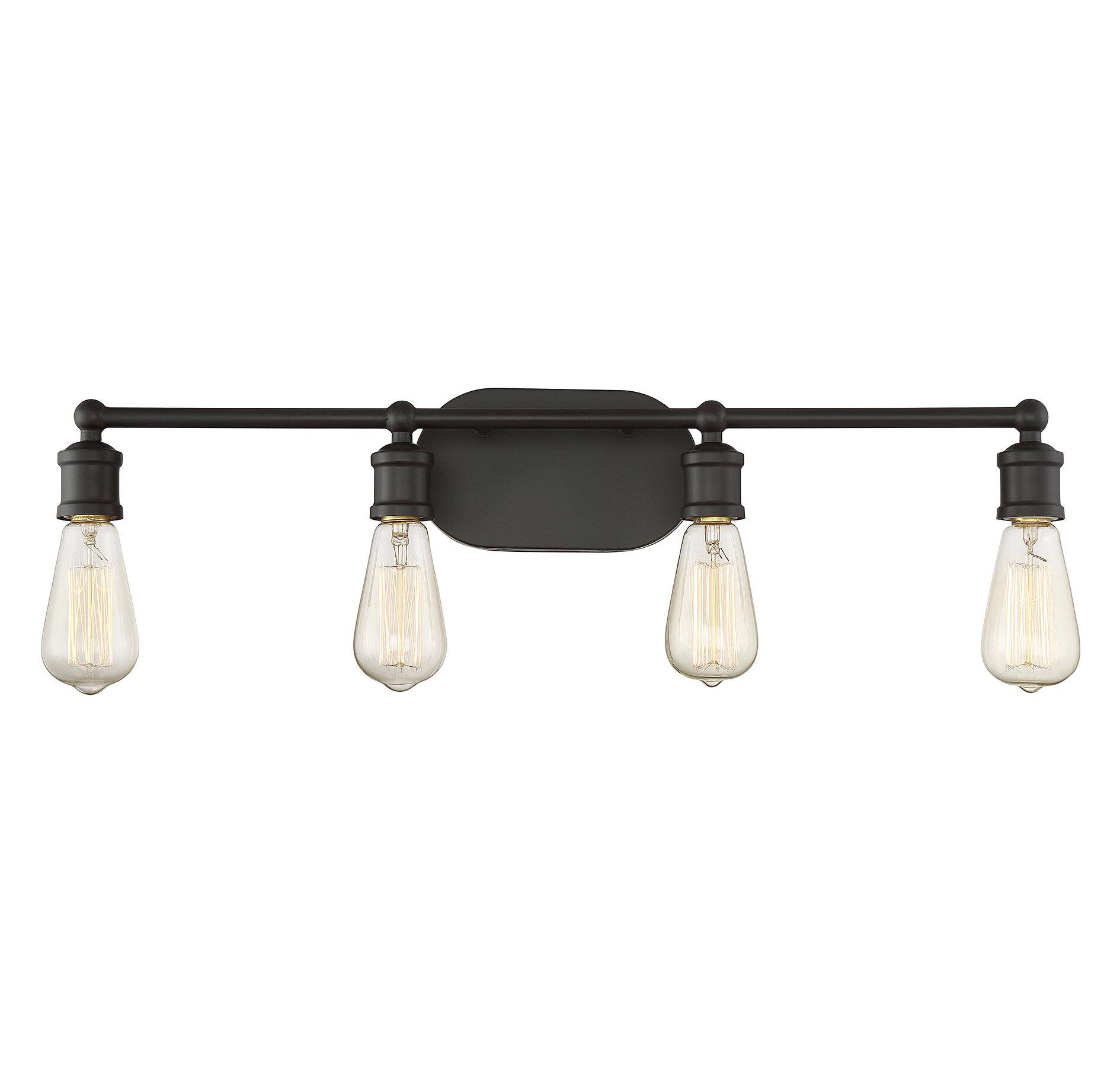 Trent Austin Design Loredo 4-Light Vanity Light & Reviews | Wayfair