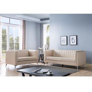Aaronae 2 Piece Living Room Set by Orren Ellis