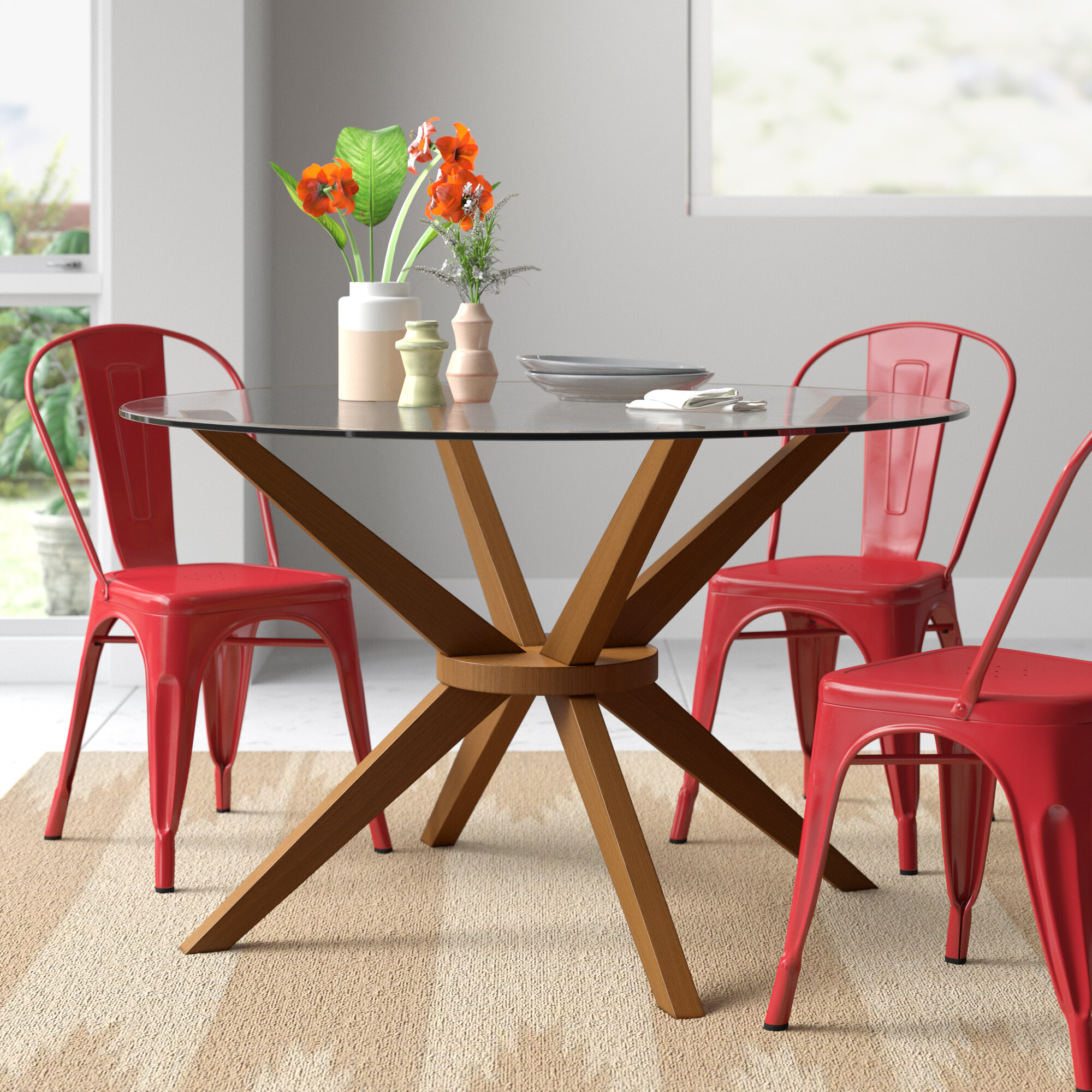 Glass Small Kitchen Dining Tables Free Shipping Over 35 Wayfair
