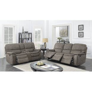 Aidan 2 Piece Reclining Living Room Set by Red Barrel Studio®
