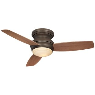 Bargain 44 Traditional Concept 3 Blade LED Ceiling Fan By Minka Aire