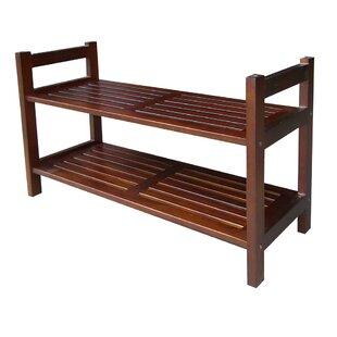 Stackable 2-Tier Shoe Rack ByORE Furniture
