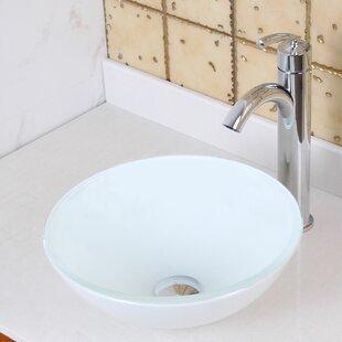 Compare & Buy Elite Ceramic Circular Vessel Bathroom Sink By Elimaxs