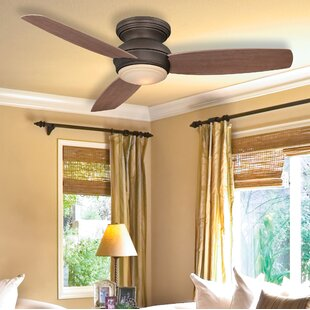 Price Check 52 Concept™ LED 3-Blade Outdoor Ceiling Fan By Minka Aire