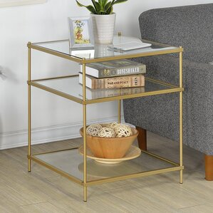 Alvar Contemporary Square End Table by Willa Arlo Interiors