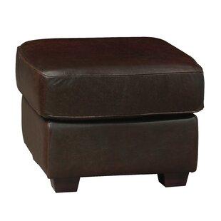 Buda Leather Ottoman