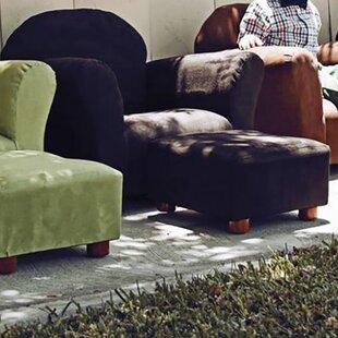 Cleadon Kids Denim Chair And Ottoman