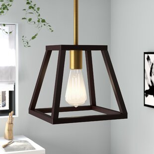Find the perfect Sheredan 1-Light Square/Rectangle Pendant By Brayden Studio
