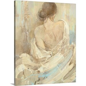 Abstract Figure Study I by Albena Hristova Painting Print on Wrapped Canvas by Great Big Canvas