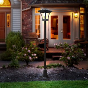 Solar Post 1 Light LED Pathway Light