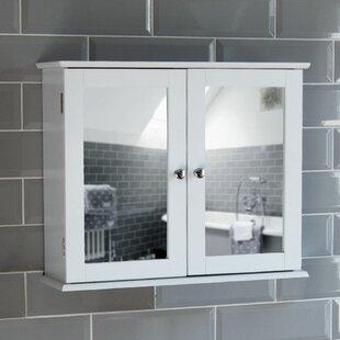 Vida Milano 57cm X 47cm Surface Mount Mirror Cabinet