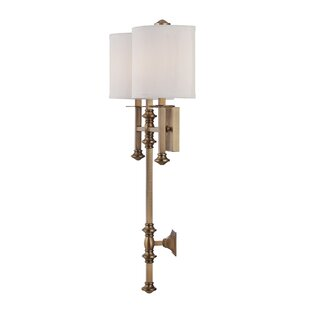 Find for Cremeans 2-Light Wall Sconce By Darby Home Co