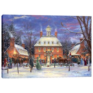 'The Governor's Party' by Chuck Pinson Painting Print on Wrapped Canvas by Cortesi Home